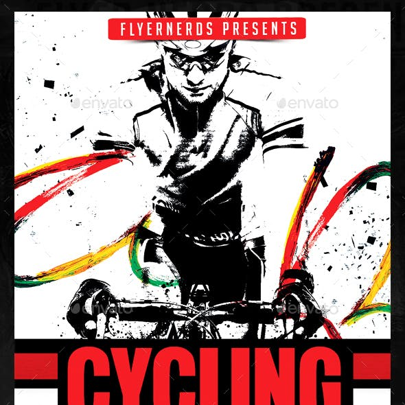 Special Stage Cycling Championships Sports Flyer
