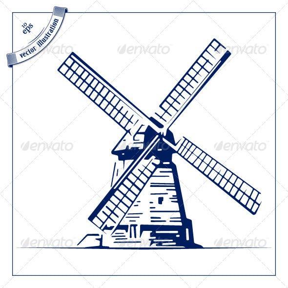 Retor Mill Emblem