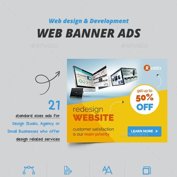Web Design Banner Ads