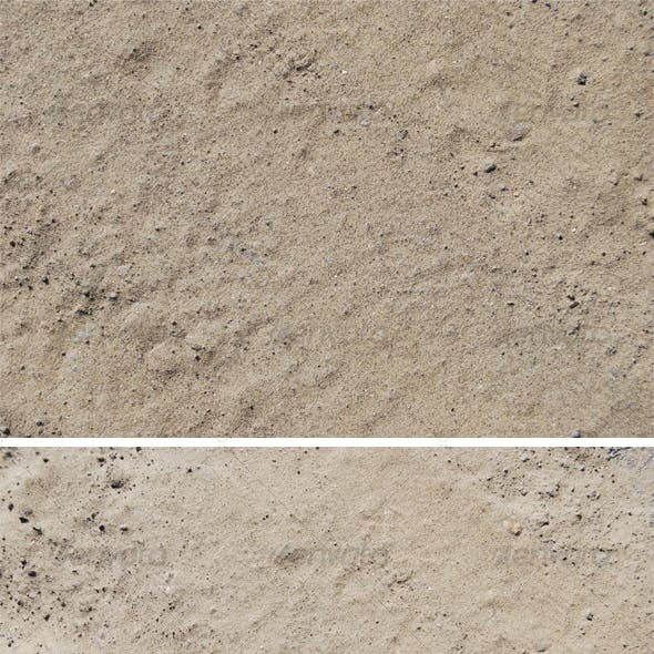 Texture white sand