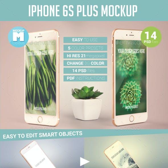 14 iPhone 6s Plus Photo Mockup