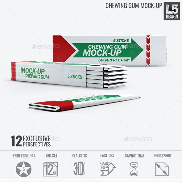Chewing Gum Mock-Up v.2