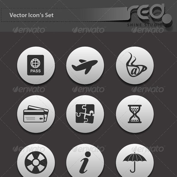 Travel Icon Vector Pack