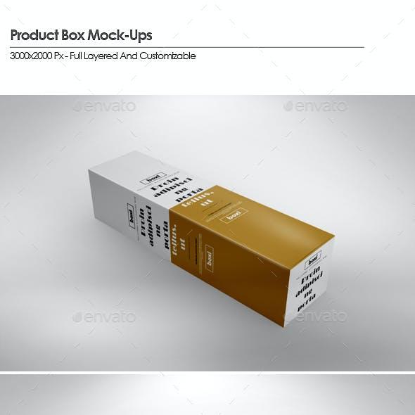 Long Box Product Mock-Ups
