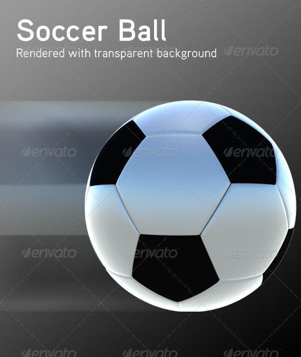Soccer Ball - Objects 3D Renders