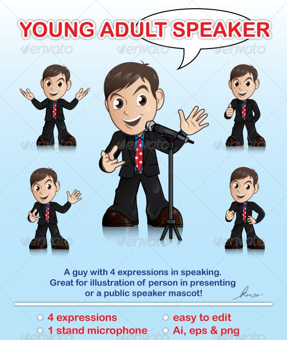 Young Adult Speaker