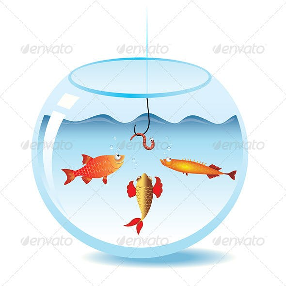 Fishing in fishbowl