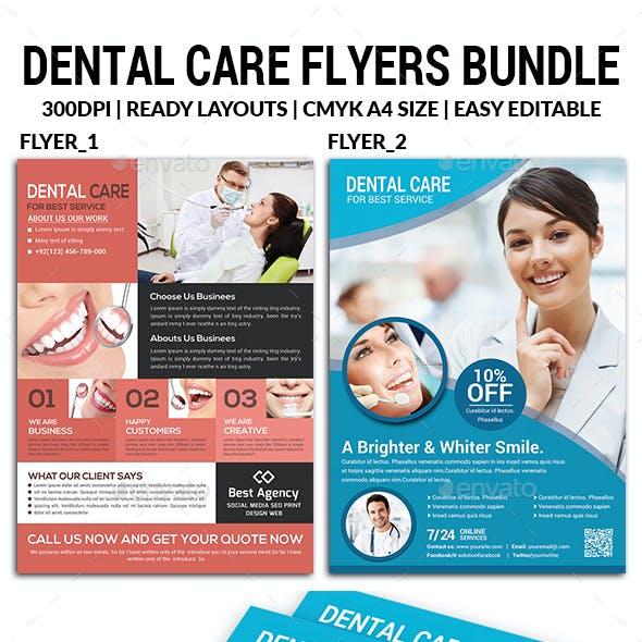 Dental Clinic Flyers Bundle