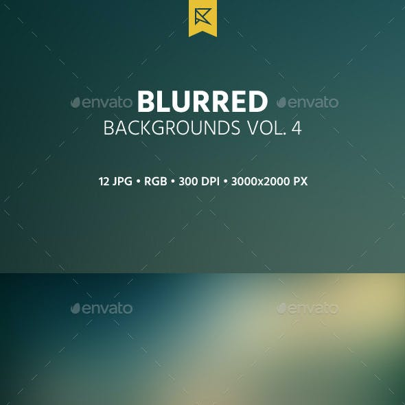Blurred Backgrounds Vol. 4