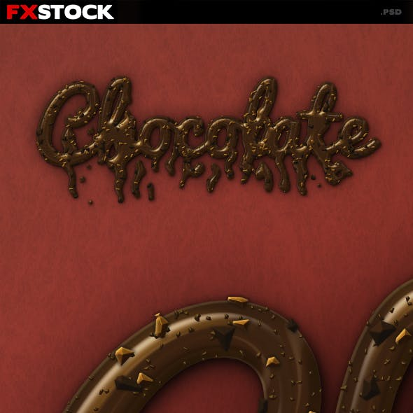 Chocolate Text Effect v1
