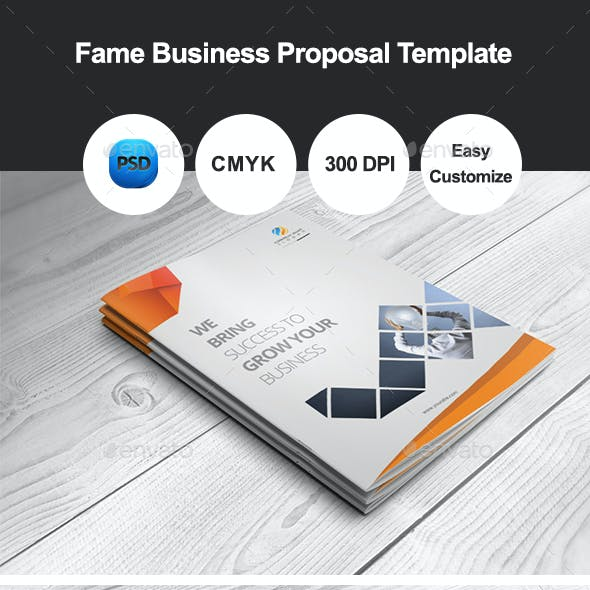 Fame Business Proposal Template