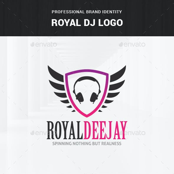 Royal DJ Logo