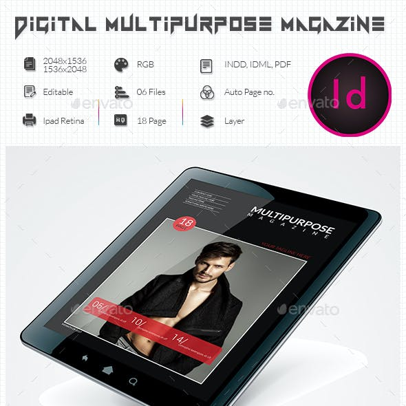 Multpurpose E-Magazine