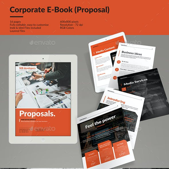 Corporate E-book Template Vol.6