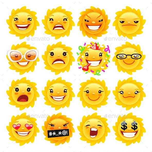 Sun Emojis