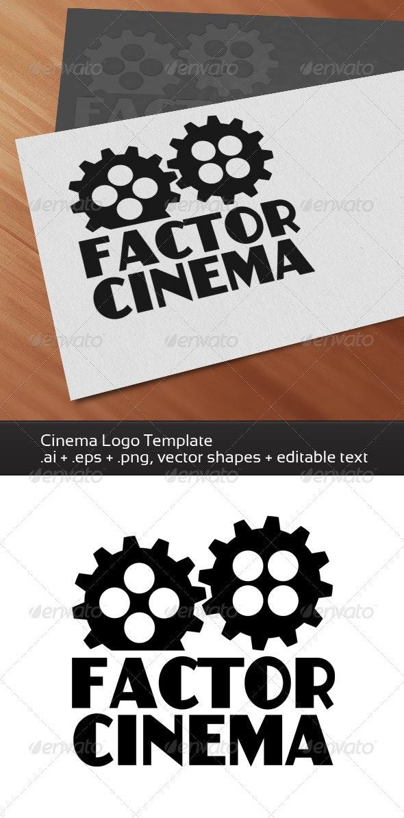 Factor Cinema - Symbols Logo Templates