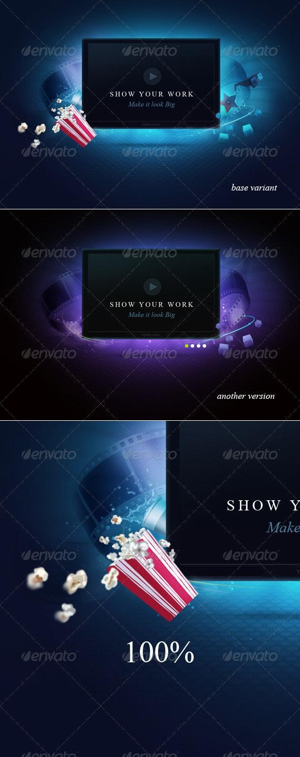 Display Screen - TV Displays