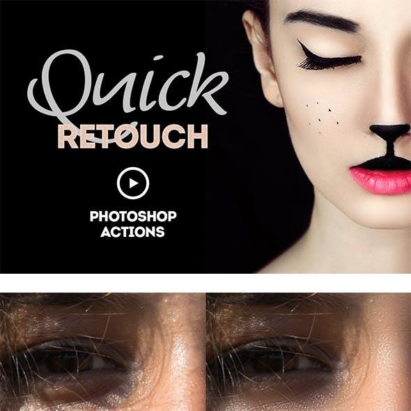 Quick Retouch Action