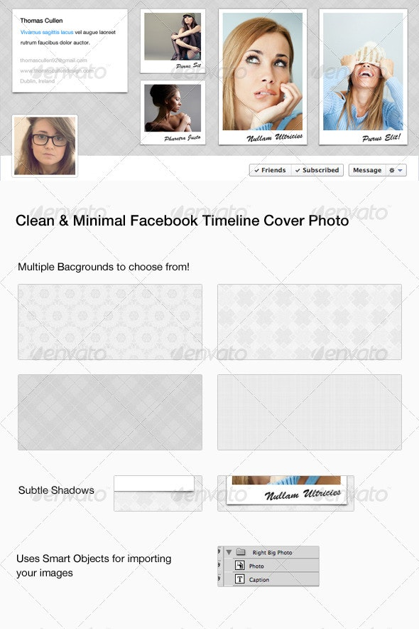 Clean Facebook Cover Photo - Facebook Timeline Covers Social Media