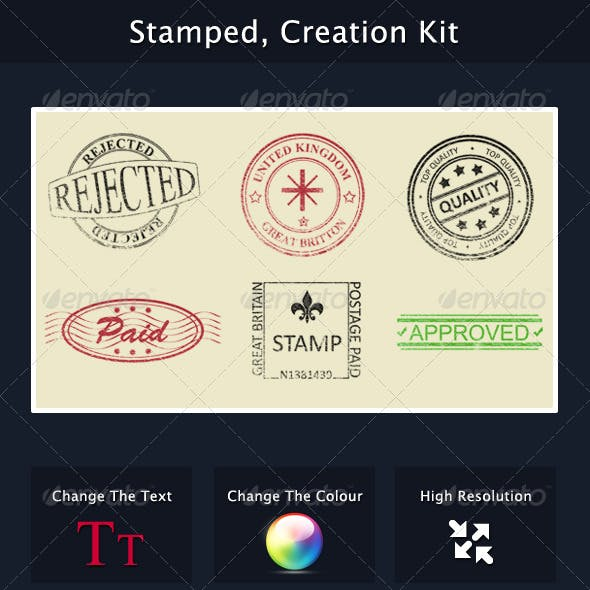 Stamped, Creation Kit