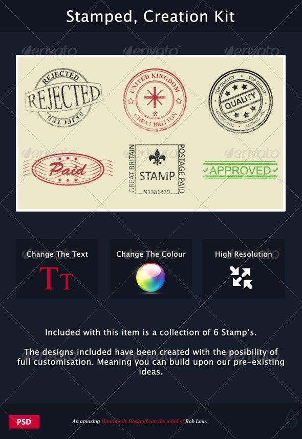 Stamped, Creation Kit - Decorative Symbols Decorative