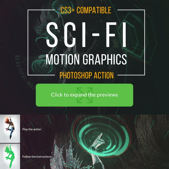 Sci-fi Motion Graphic Movie Effect