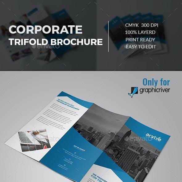 Corporate Tri fold Brochure
