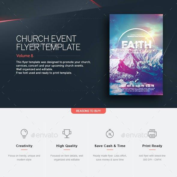 Faith - Church Flyer
