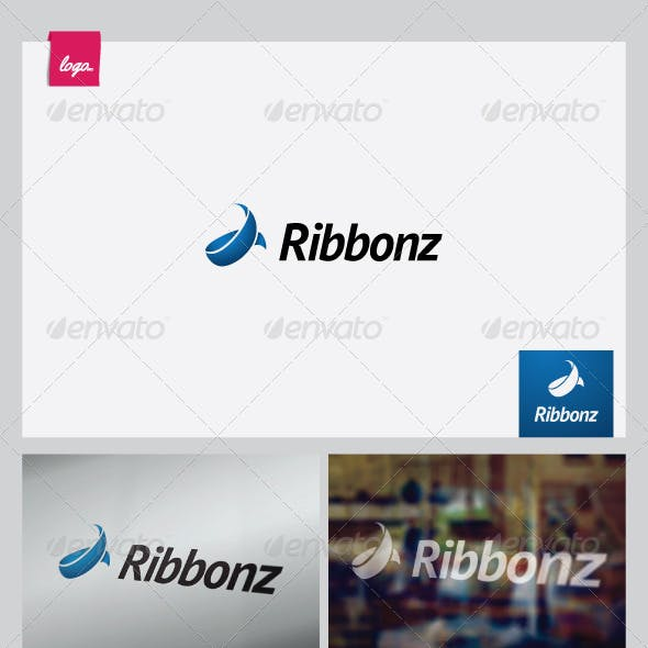 Ribbonz - Logo Template