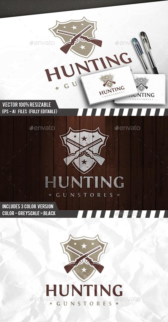Hunting Logo - Crests Logo Templates