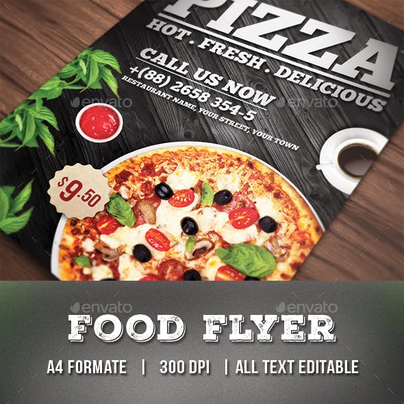Pizza Flyer / Food Flyer