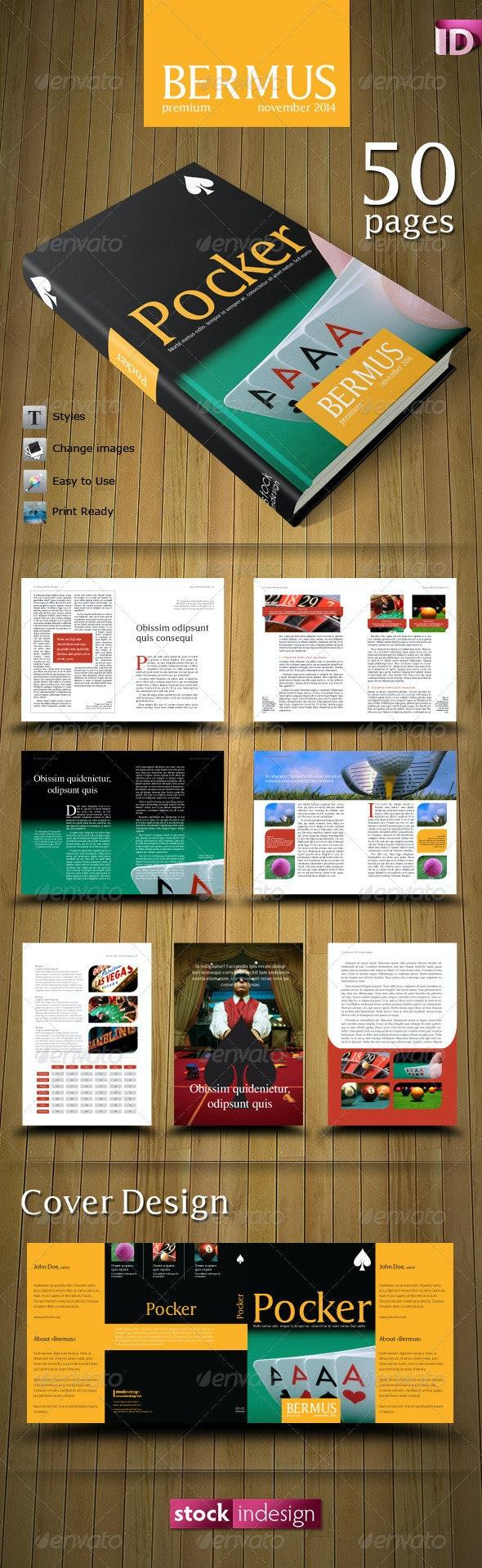 PRO Book Template: Bermus - Miscellaneous Print Templates