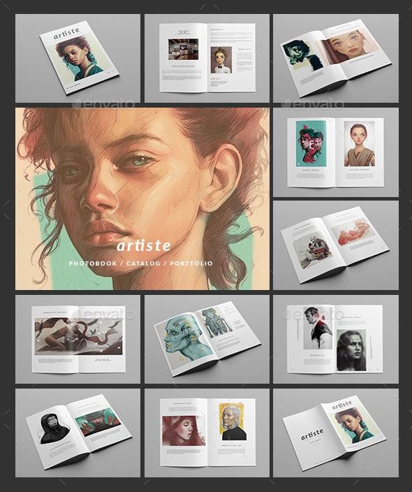 Artiste / Multipurpose Minimal Portfolio  - Portfolio Brochures