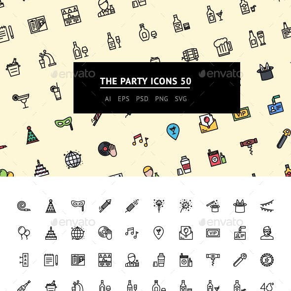 The Party Icons 50
