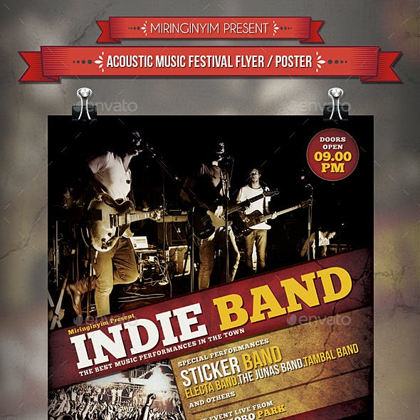 Indie Band Flyer / Poster