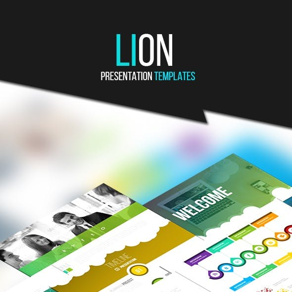 LION - Powerpoint Templates