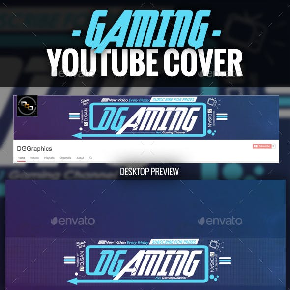 Gaming YouTube Cover