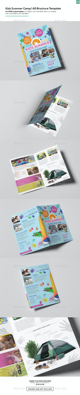 Kids Summer Camp/ A5 Brochure Template - Corporate Brochures
