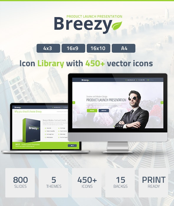 Breezy Powerpoint Presentation - PowerPoint Templates Presentation Templates