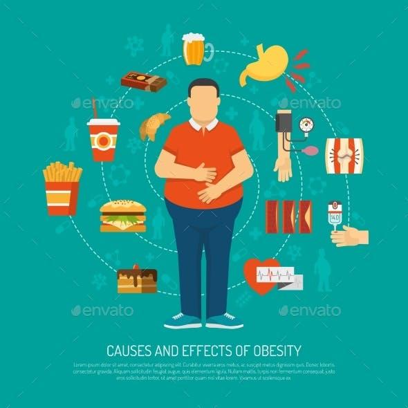 Obesity Concept Illustration