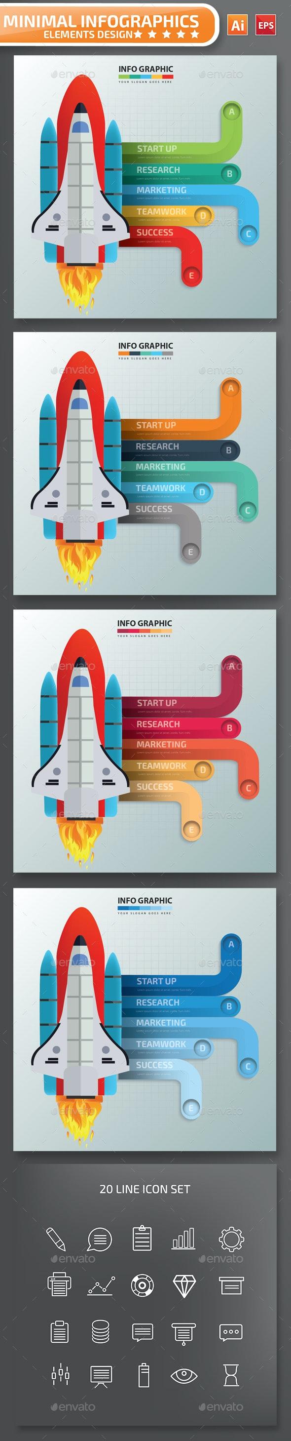 Minimal Start up infographic Design