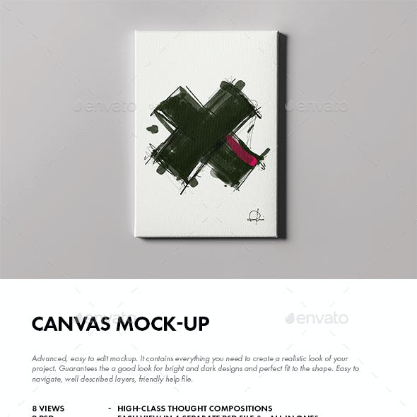 Canvas Mock-up