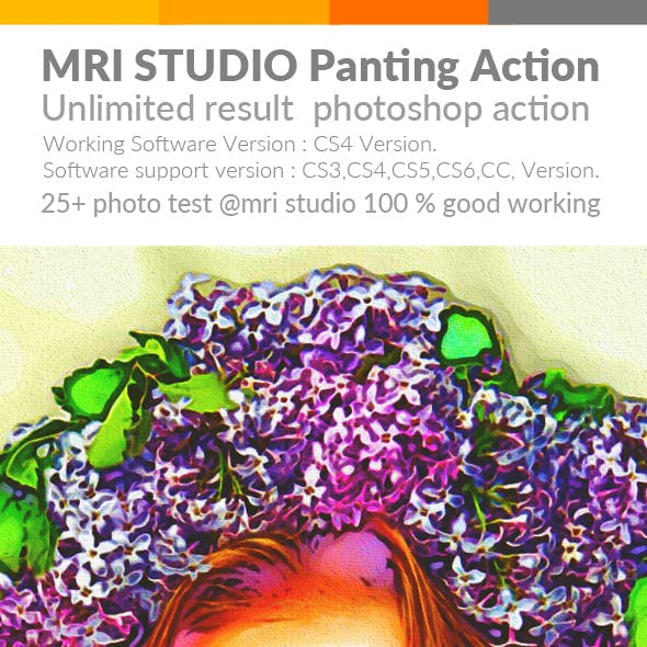 M Panting Photoshop Action
