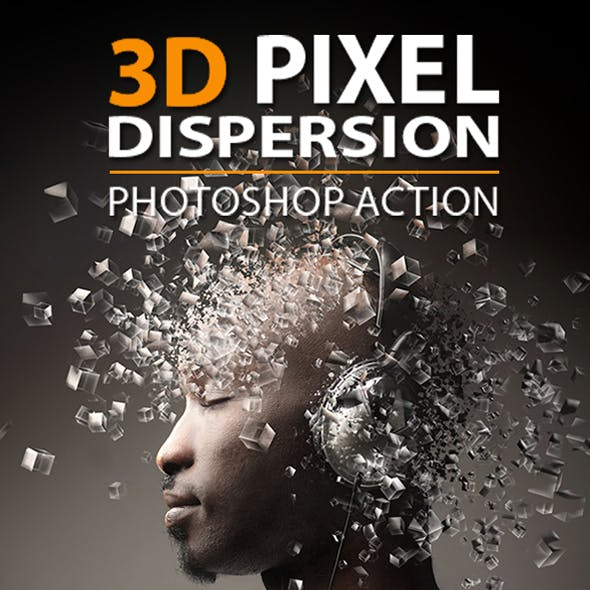 3d Pixel Dispersion