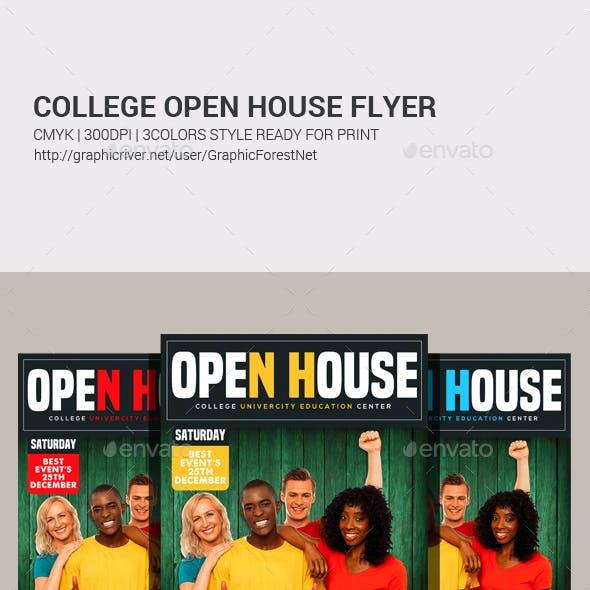College Fair Flyer Templates