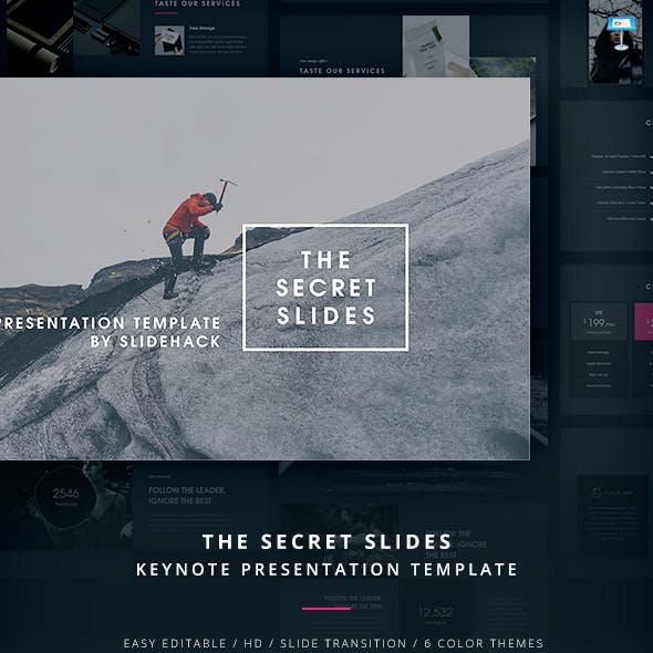 The Secret Slides - Keynote Template