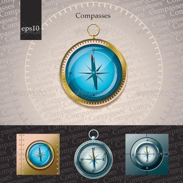 Compasses - Travel Conceptual