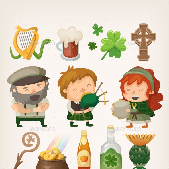 Irish People and Items