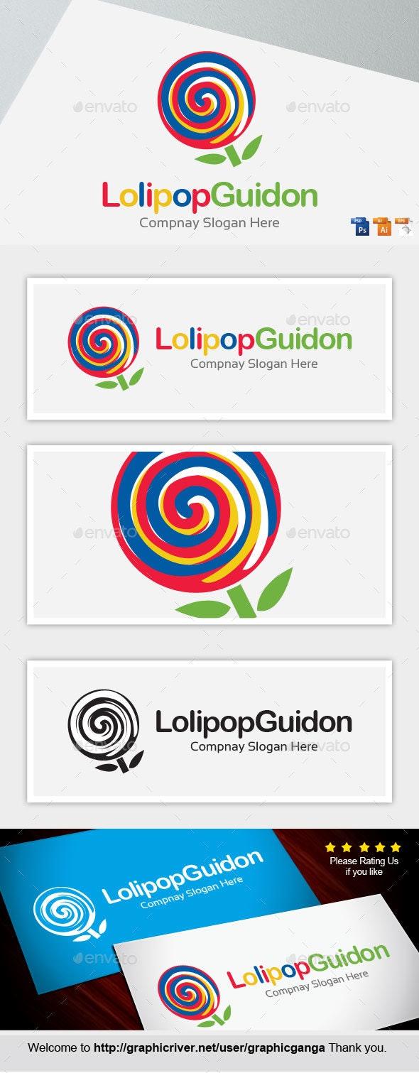 Lollipop Garden - Abstract Logo Templates