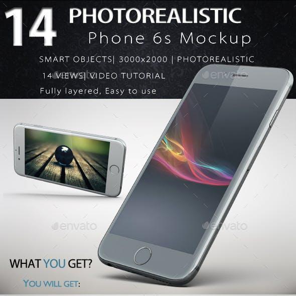 Phone 6s Gravity Mock Up